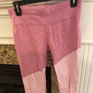 Pink gap workout pants